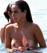 Nani Gaitán Pillada En Topless