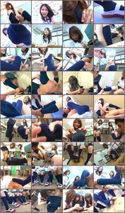 IWGB-014 The Blue Knee high Socks of High School Girls Asian Femdom