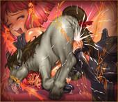 ZOOERASTIA Toyomaru ZOOERASTIA Mini CG Collection 05 Beastiality dog horse monster